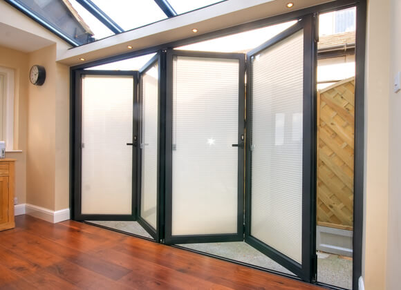 Patio Door Bi Folding Door Blinds A Z Blinds Amp Shutters
