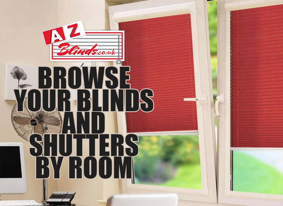 Browse blinds and shutters by Room