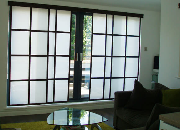 Japanese Style Panel Blinds Runcorn and Liverpool