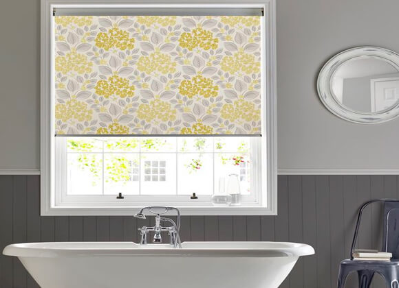 Roller Bathroom Blinds