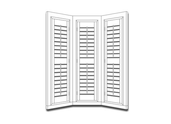 Shutter Styles Bay Window Shutters Runcorn and liverpool
