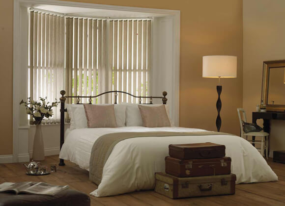 Vertical Blinds Bedroom