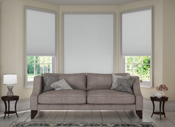 White Duette Blinds Runcorn Liverpool
