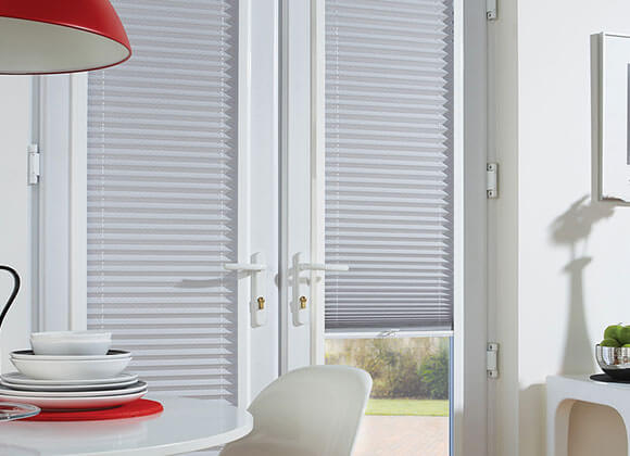 White Perfect fitted Blinds