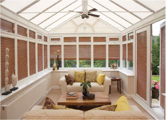 Conservatory Blinds wooden