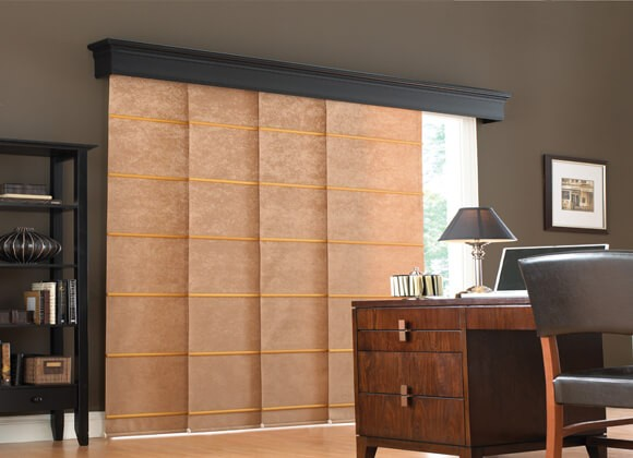 home office Panel Blinds Runcorn and Liverpool