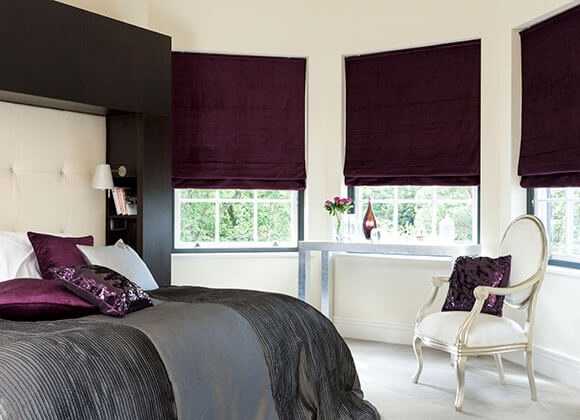 roman style blinds runcorn