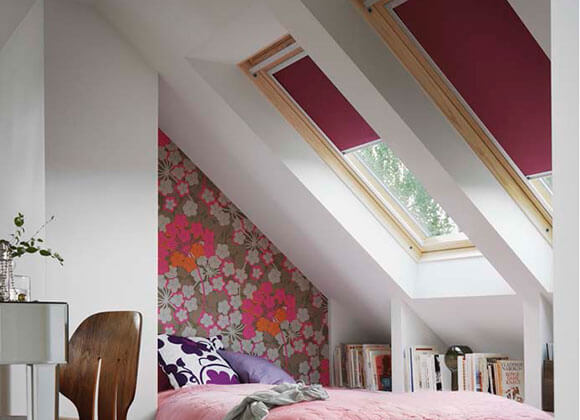 velux bedroom blinds