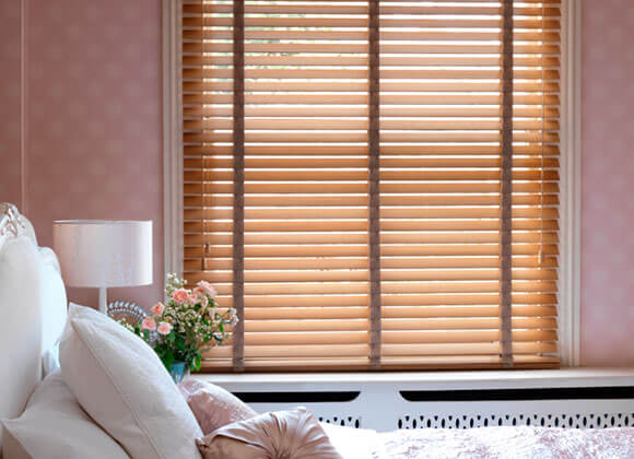wooden Venentian Blinds