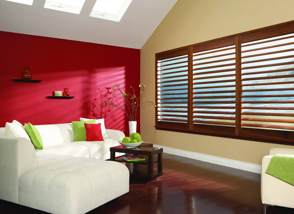 wooden Venentian shutter Blinds