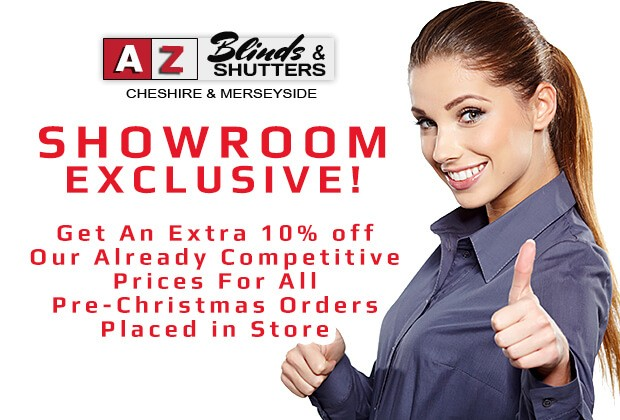 A-Z Blinds Runcorn Liverpool--blinds shutters special offer