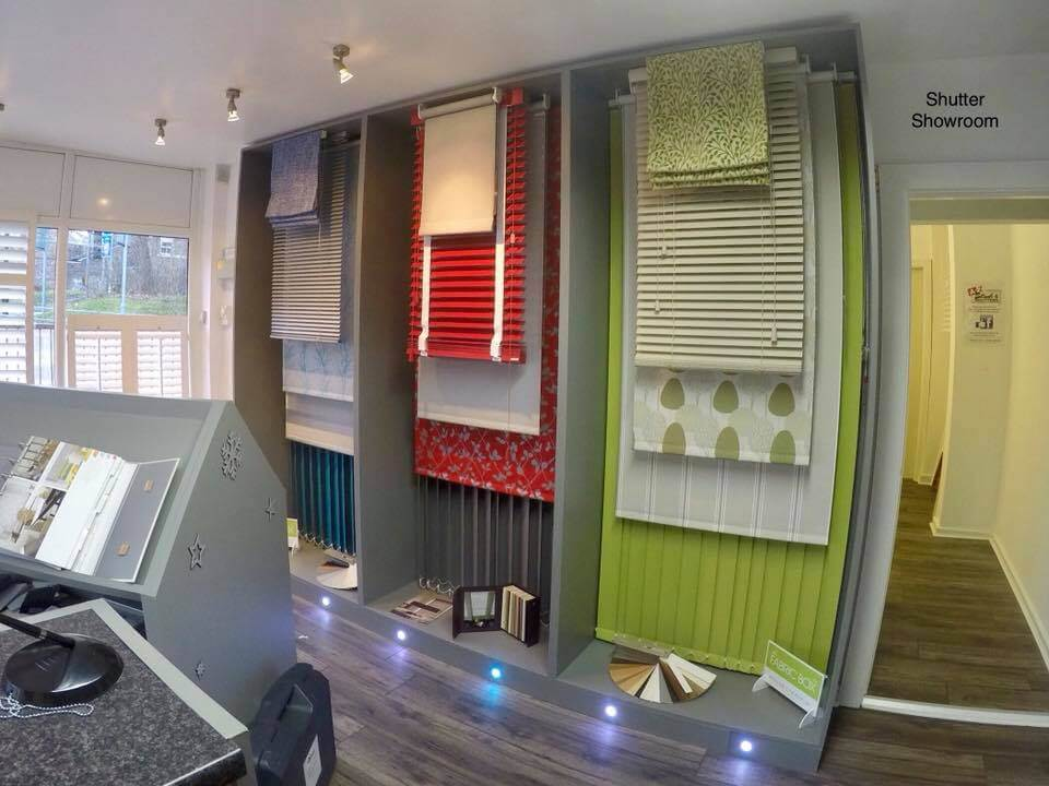 A-Z Blinds and Shutters Runcorn Store Shop inside 2