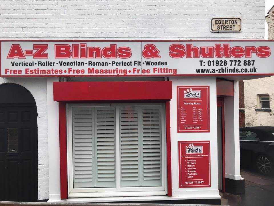 A-Z Blinds and Shutters Runcorn Store Blinds Shop