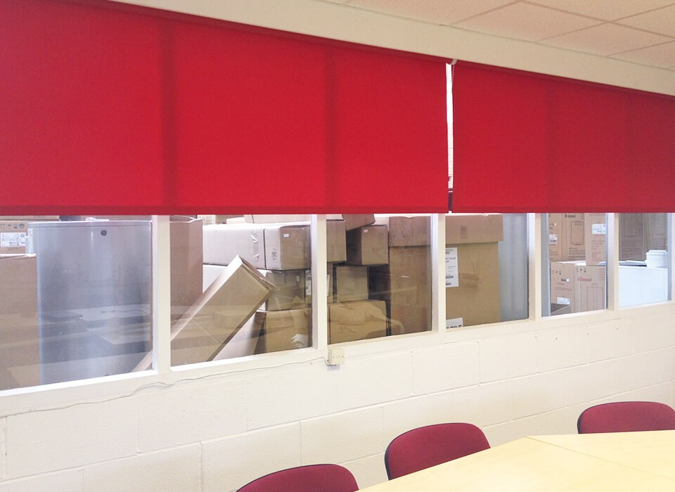 Commercial Factory Blinds Runcorn and liverpool