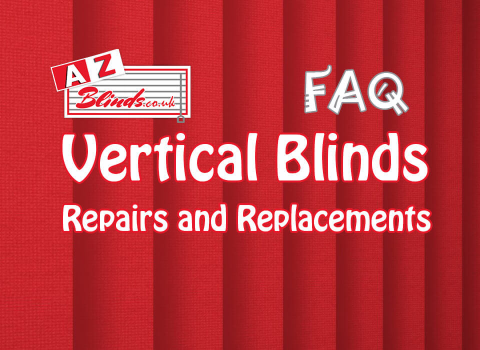 Vertical Blinds Repairs and Replacements