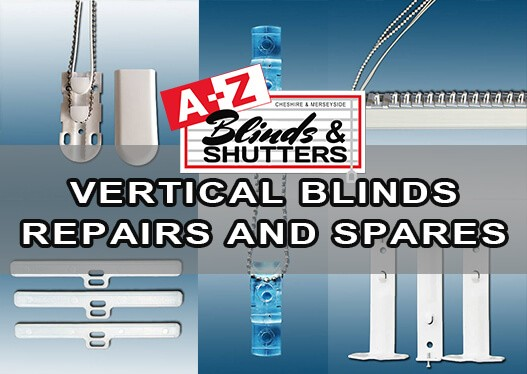 A-Z Blinds Vertical Blinds Repairs and spares