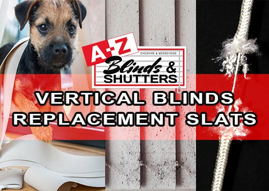 A-Z Blinds Vertical Blinds Replacement-Slats-PVC