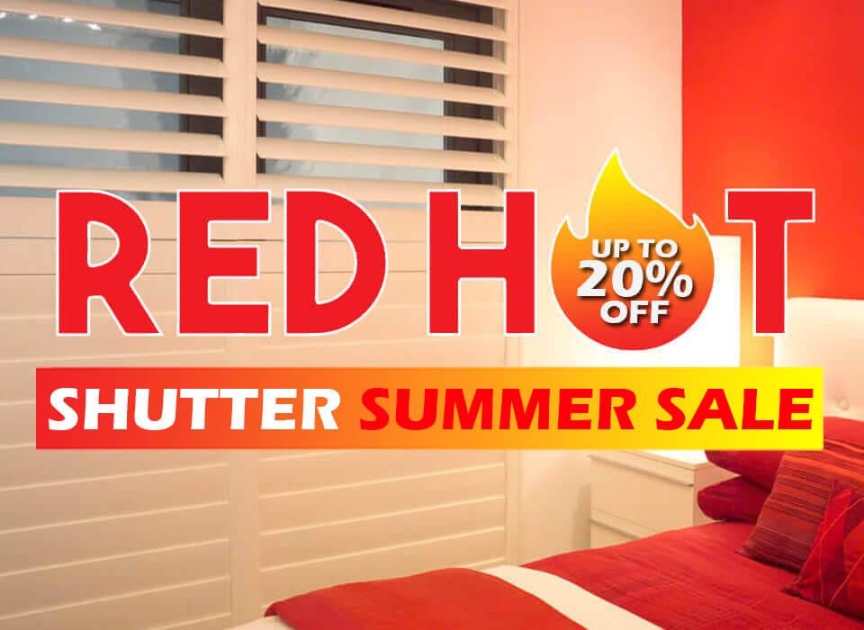 Summer Shutter Sale A-Z BLinds Runcorn and Liverpool