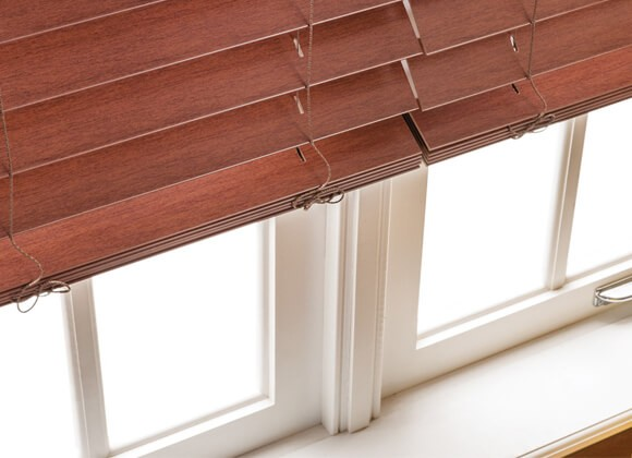 Faux Wood Blinds Runcorn