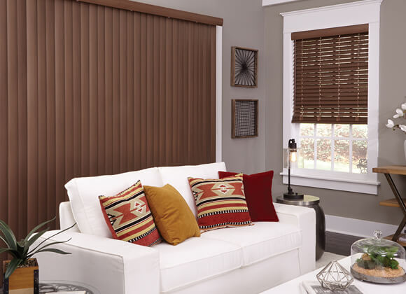 Faux Wood Living room Blinds