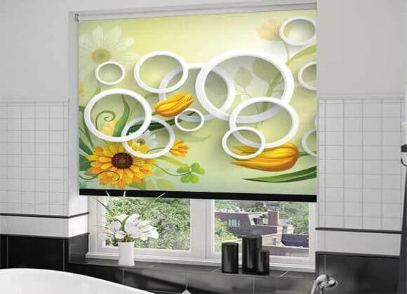 Digitally Printed 3d look Blinds
