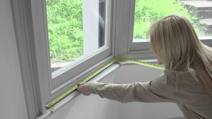 how to measure bay windows