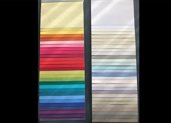 Vertical Blinds Replacement Slat Colour options
