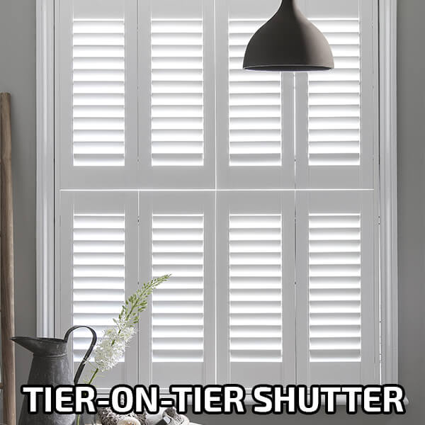 Tier on Tier Shutters A-Z-Blinds