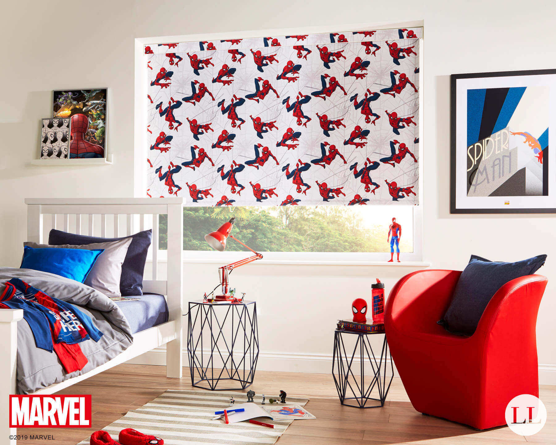 Spiderman Marvel Roller Blinds Runcorn Liverpool