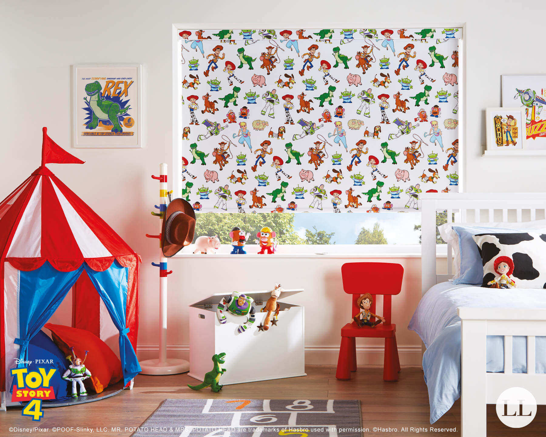 Toy Story 4 Roller Blinds Runcorn Liverpool