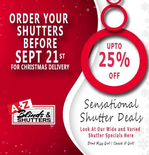 Shutter Orders Sept A- Z BLINDS RUNCORN